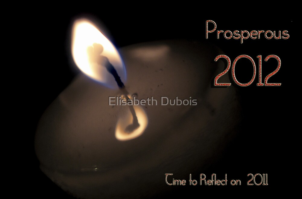 TIME TO REFLECT... HELLO 2012 by Elisabeth Dubois