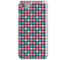 Pink & Blue Dots iPhone Case/Skin