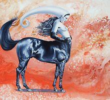 Equine attitude by Graeme  Stevenson