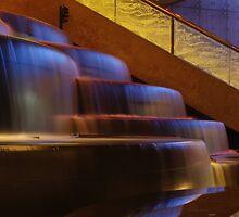 Crown Atrium Waterfall by Andrejs Jaudzems