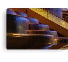 Crown Atrium Waterfall Canvas Print