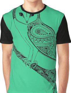 Intricate barn owl Graphic T-Shirt