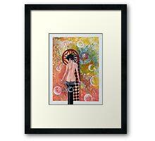 Giesha Framed Print