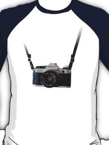 Amazing Hanging Canon Camera - AE1 Program! T-Shirt
