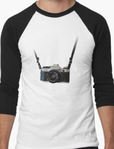 Amazing Hanging Canon Camera - AE1 Program! Men's Baseball ¾ T-Shirt
