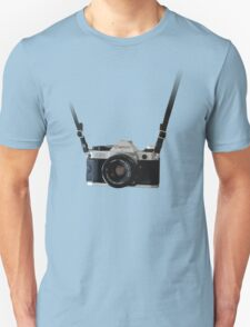 Amazing Hanging Canon Camera - AE1 Program! Unisex T-Shirt