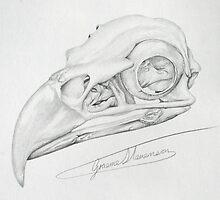 inside the eagle by Graeme  Stevenson