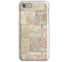 Suburban Sydney maps  iPhone Case/Skin