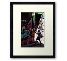 We're not in Kansas anymore, Toto ... Framed Print