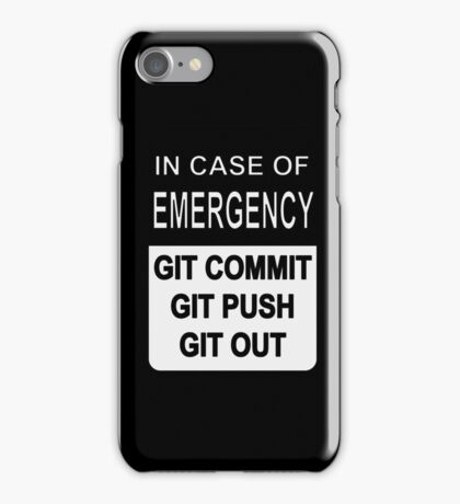 Git Out Custom iPhone Case/Skin