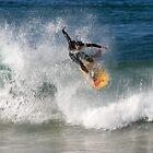 Body boarder  by Bill  Russo