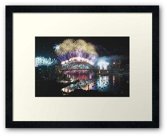 Simply The Best ! - Sydney NYE Fireworks  #1 by Philip Johnson