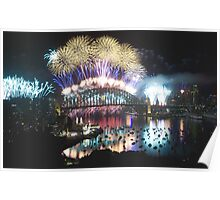 Simply The Best ! - Sydney NYE Fireworks  #1 Poster
