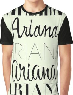 Ariana Grande - Era Logos Graphic T-Shirt