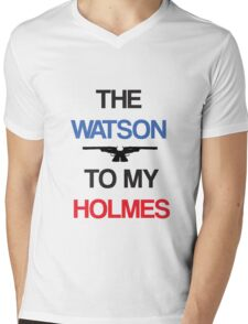 The Watson To My Holmes Mens V-Neck T-Shirt