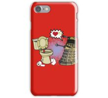 doctor who dalek love iPhone Case/Skin