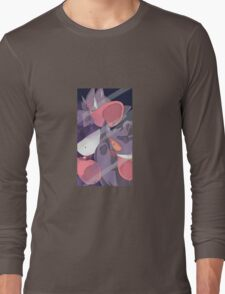 Pokemon Gastly Trio Long Sleeve T-Shirt