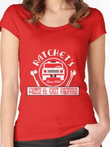 Ratchet's Auto & Bot Repair Women's Fitted Scoop T-Shirt
