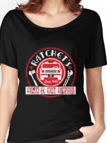 Ratchet's Auto & Bot Repair Women's Relaxed Fit T-Shirt