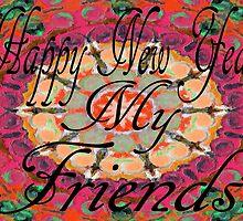 HAPPY NEW YEAR 2012 by Barbara Cannon  ART.. AKA Barbieville