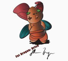 Fat Dragon: Orich by dragonmanstudio