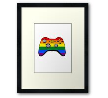 Gamer Solidarity 2 Framed Print