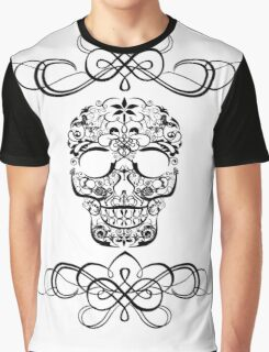 Tribal Anything Skull Graphic T-Shirt