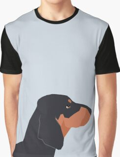 Dakota - Dachshund phone case fun and bright for pet lovers and gift for dog people Graphic T-Shirt