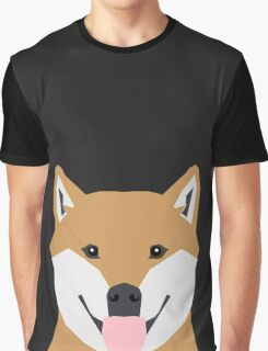 Indiana - Shiba Inu gift design for dog lovers and dog people Graphic T-Shirt