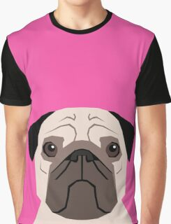 Taylor - Pug dog art phone case for pet lovers and dog people Graphic T-Shirt