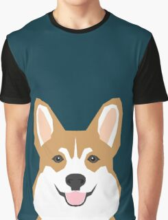 Teagan - Corgi Welsh Corgi gift phone case design for pet lovers and dog people Graphic T-Shirt