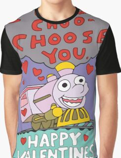 I Choo Choo Choose You Graphic T-Shirt