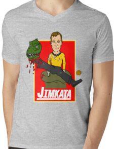 JIMKATA Mens V-Neck T-Shirt