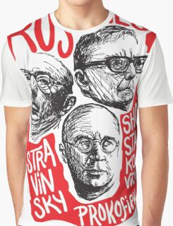 Ruskies-Russian Composerss Graphic T-Shirt