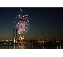 New Year's Eve 2011 at Docklands I Photographic Print