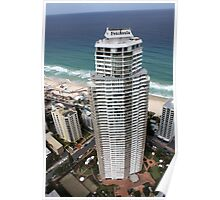 The Peninsula Building at Surfers Paradise. Poster
