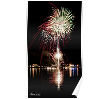 Taree Nsw Fireworks 2012 Poster