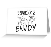 New year card Greeting Card