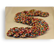 S.......is for Sprinkles!! Canvas Print