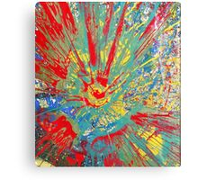 Into the fire  Canvas Print