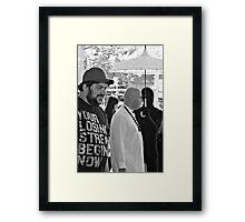 Winners or Losers Framed Print