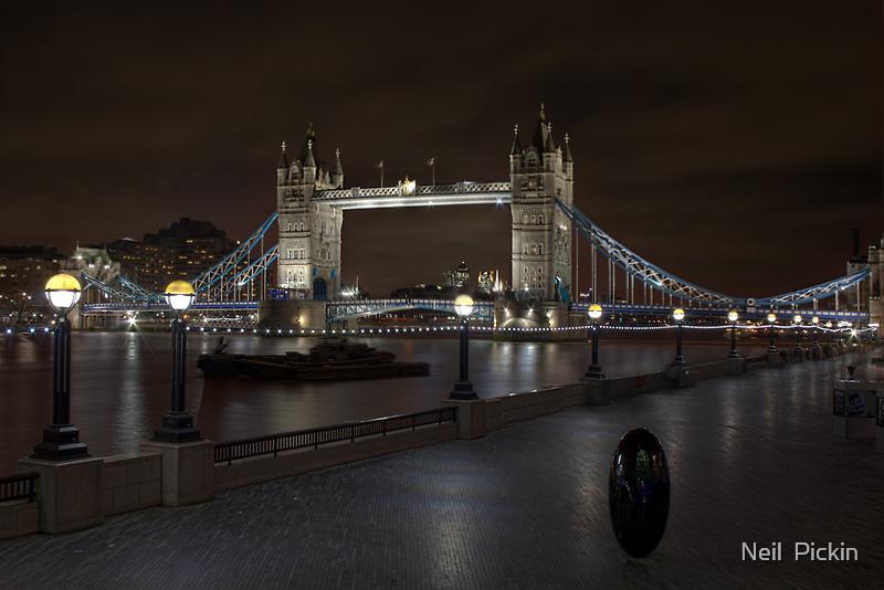 Tower Bridge London 3 by Neil  Pickin