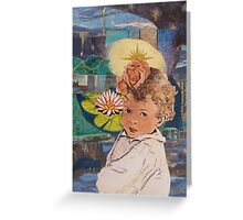 Light of My Sky Greeting Card
