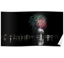 Taree Fireworks 02 - 2012 Poster