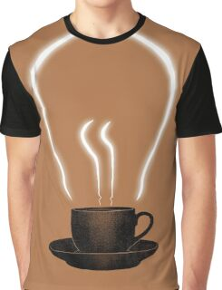 The power of coffee Graphic T-Shirt