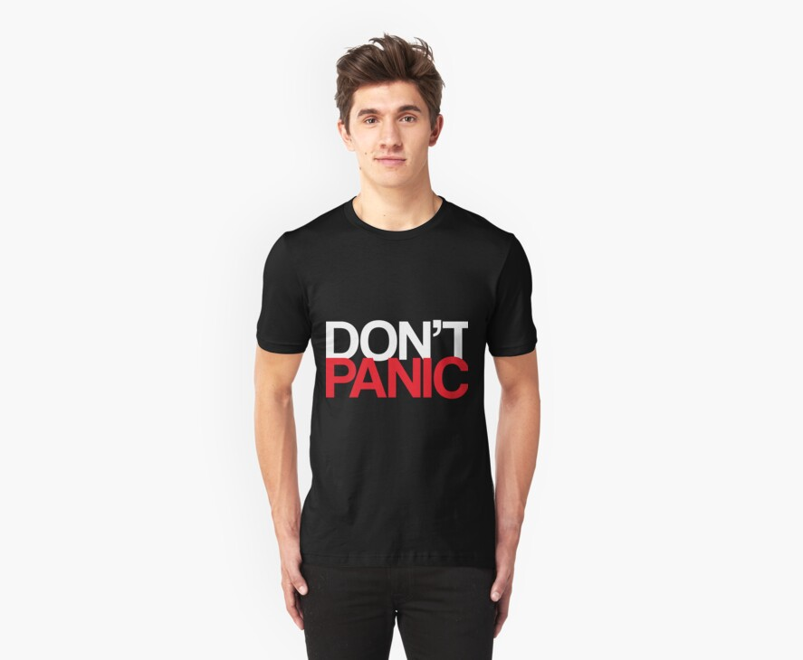 DON'T PANIC by KitsuneDesigns