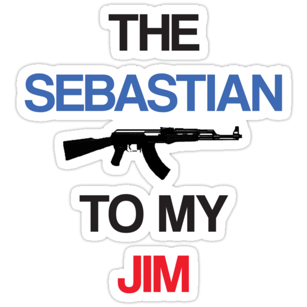 The Sebastian To My Jim by KitsuneDesigns