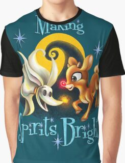 Making Spirits Bright Graphic T-Shirt