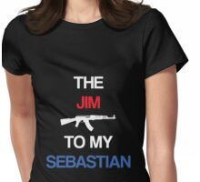 The Jim To My Sebastian Womens Fitted T-Shirt