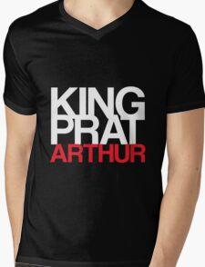 King, Prat, Arthur Mens V-Neck T-Shirt